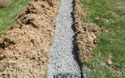 How to build an exterior French drain system